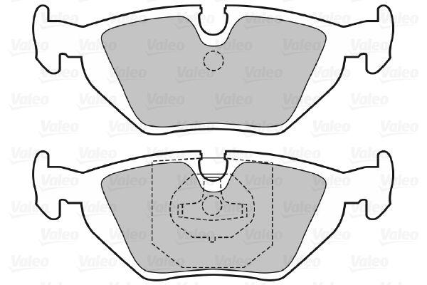 Bremsbelagsatz VALEO 598386 Bewertung