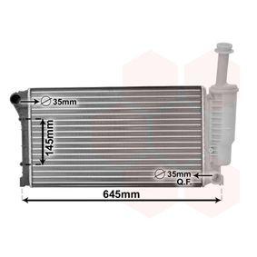 Radiator, engine cooling 17002335 PANDA (169) 1.2 MY 2006