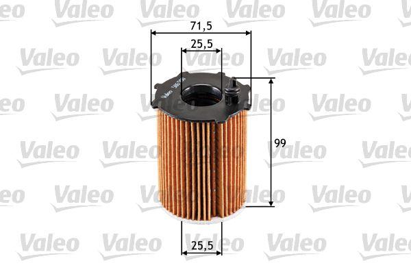 Oil Filter 586500 VALEO 586500 original quality