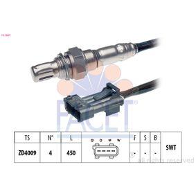 Lambdasonde Kabellänge: 450mm mit OEM-Nummer 12788129