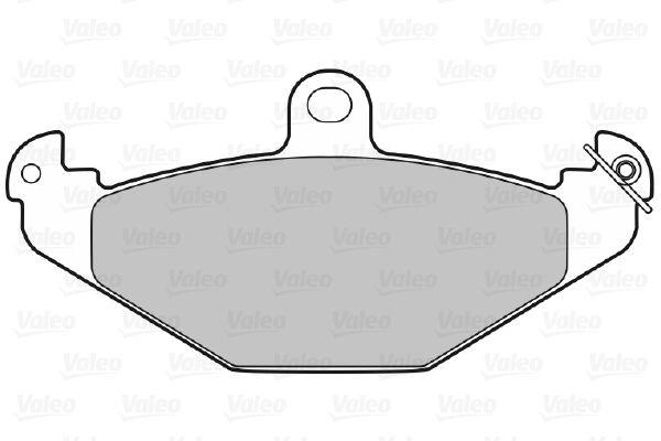 Bremsbelagsatz VALEO 598055 Bewertung