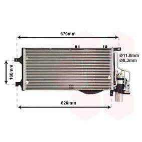Kondensator, Klimaanlage mit OEM-Nummer 18 50 071