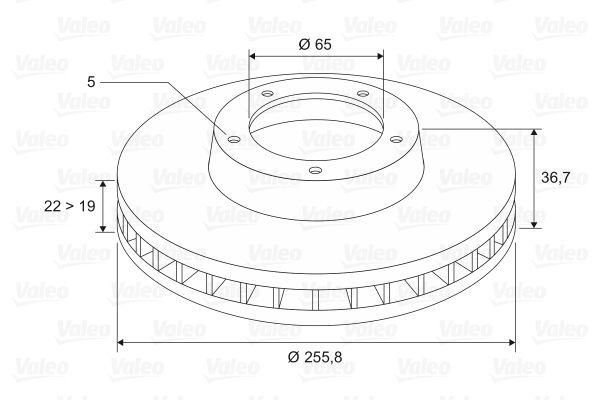 Brake Rotors VALEO 186603 rating