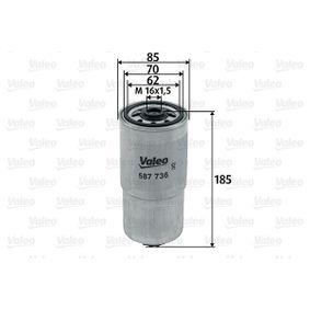 Fuel filter 587736 SORENTO 1 (JC) 2.5 CRDi MY 2009