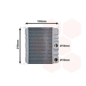 Wärmetauscher, Innenraumheizung 06006211 X3 (E83) 2.0 d Bj 2006