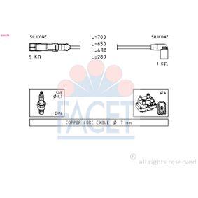 Zündleitungssatz mit OEM-Nummer 06A905430E+