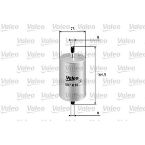 Kraftstofffilter Höhe: 164,5mm mit OEM-Nummer 7700820376
