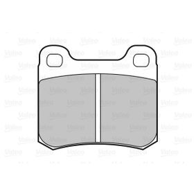 Bremsbelagsatz, Scheibenbremse Breite 1: 61,7mm, Höhe 1: 54,4mm, Dicke/Stärke 1: 13,5mm mit OEM-Nummer 001.420.01.20