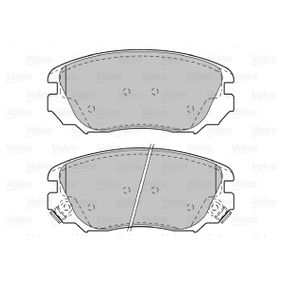 Bremsbelagsatz, Scheibenbremse Breite: 131,3mm, Höhe: 59,6mm, Dicke/Stärke: 19,3mm mit OEM-Nummer 13237753
