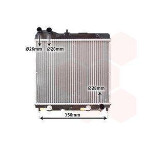 Радиатор, охлаждане на двигателя 25002161 Jazz 2 (GD_, GE3, GE2) 1.2 i-DSI (GD5, GE2) Г.П. 2004