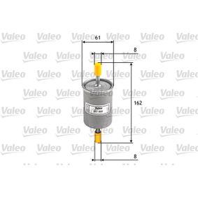Touran 1T1, 1T2 2.0FSI Kraftstofffilter VALEO 587008 (2.0 FSI Benzin 2007 AXW)