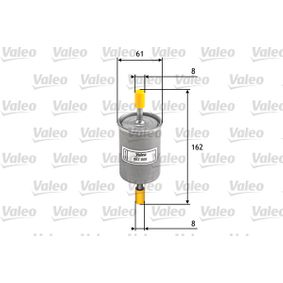 Fuel filter Height: 162mm with OEM Number 46 441 236