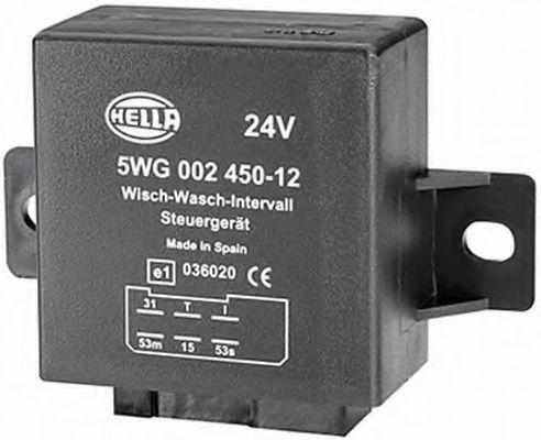 Relais, Wisch-Wasch-Intervall 5WG 002 450-127 HELLA 5WG 002 450-127 in Original Qualität