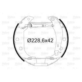 Bremsensatz, Trommelbremse mit OEM-Nummer 4241.8N