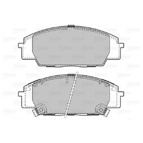Brake Pad Set, disc brake Width: 135,1mm, Height: 52mm, Thickness: 16mm with OEM Number 45022SMTE50