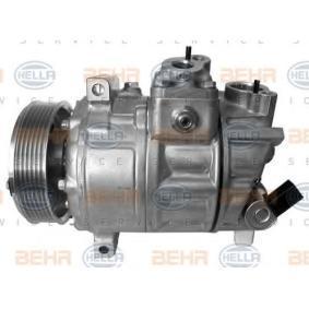 Klimakompressor Riemenscheiben-Ø: 110mm mit OEM-Nummer W01 K08 208 59F