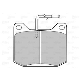 Brake Pad Set, disc brake Width: 78mm, Height: 64,6mm, Thickness: 17mm with OEM Number 424546