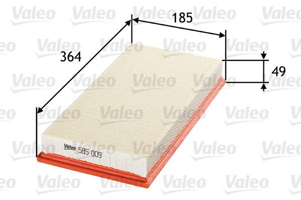 Filter 585009 VALEO 585009 in Original Qualität