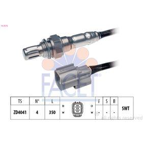 Lambdasonde Kabellänge: 350mm mit OEM-Nummer 36531 PRA G01