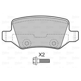 Brake Pad Set, disc brake Width: 95,5mm, Height: 41,3mm, Thickness: 14,6mm with OEM Number A168 420 04 20