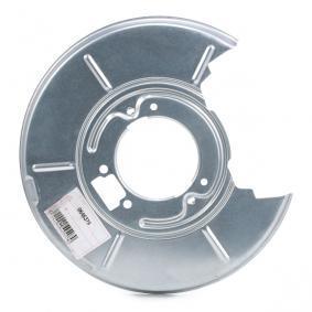 Accesorios y Piezas BMW 3 Coupé (E46) 318 Ci de Año 03.2005 150 CV: Chapa protectora contra salpicaduras, disco de freno (0646374) para de VAN WEZEL