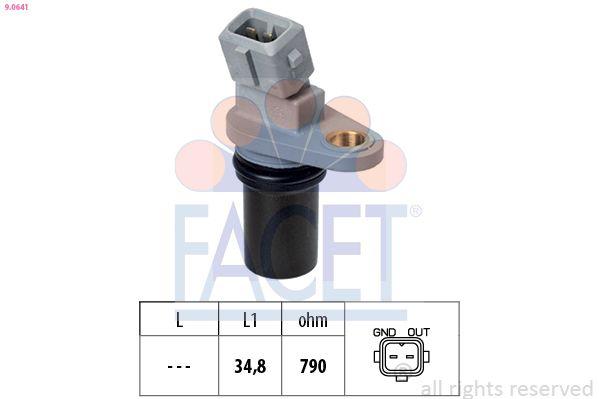 FACET  9.0641 Drehzahlsensor, Motormanagement