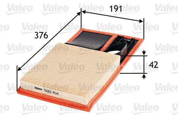 Luftfilter 585154 VALEO 585154 in Original Qualität