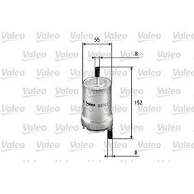 Kraftstofffilter Höhe: 152mm mit OEM-Nummer 6Q0-201-051