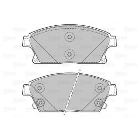 Bremsbelagsatz, Scheibenbremse Breite 1: 148,1mm, Höhe 1: 61,2mm, Dicke/Stärke 1: 18,8mm mit OEM-Nummer 16 05 135