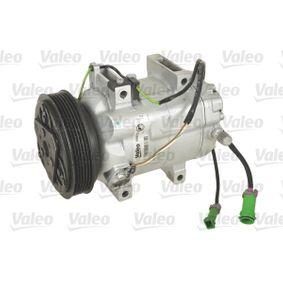 VALEO Kompressor, Klimaanlage 699727 für AUDI 80 (8C, B4) 2.8 quattro ab Baujahr 09.1991, 174 PS