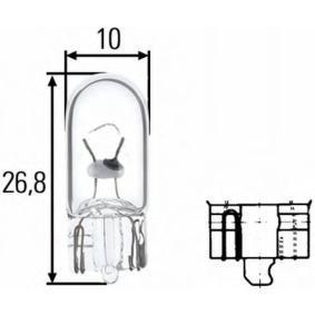 Bulb 5W, W5W, W2,1x9,5 d 8GP 003 594-128 FORD FOCUS, FIESTA, MONDEO