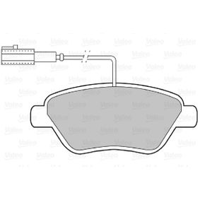 Bremsbelagsatz, Scheibenbremse Breite: 122,9mm, Höhe: 53,2mm, Dicke/Stärke: 17,8mm mit OEM-Nummer 77364832