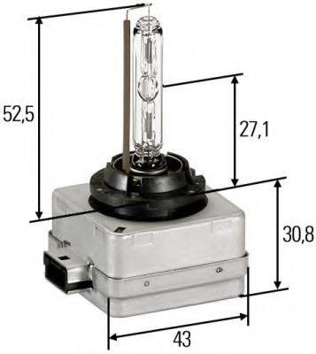 HELLA  8GS 009 028-021 Bulb, headlight