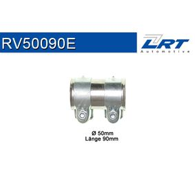 Touran 1T1, 1T2 1.6 Auspuffschelle LRT RV50090E (1.6 Benzin 2006 BSF)