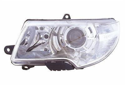 VAN WEZEL  7636961 Hauptscheinwerfer für Fahrzeuge mit Leuchtweiteregelung (elektrisch), für Fahrzeuge ohne Scheinwerferreinigungsanlage, für Rechtsverkehr