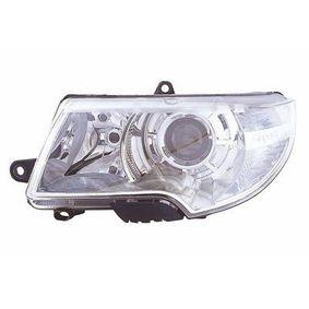 Hauptscheinwerfer für Fahrzeuge mit Leuchtweiteregelung (elektrisch), für Fahrzeuge ohne Scheinwerferreinigungsanlage, für Rechtsverkehr mit OEM-Nummer 3T1941017C