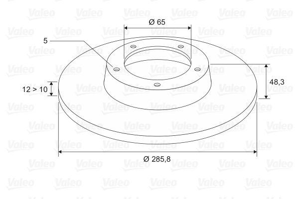 Brake Rotors VALEO 197031 rating