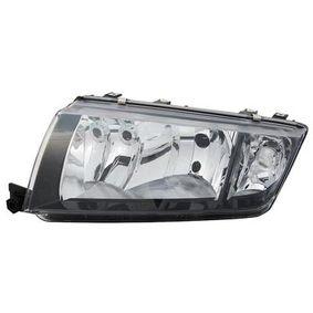 Hauptscheinwerfer für Fahrzeuge mit Leuchtweiteregelung (elektrisch), für Rechtsverkehr, schwarz mit OEM-Nummer 6Y1 941 015 P