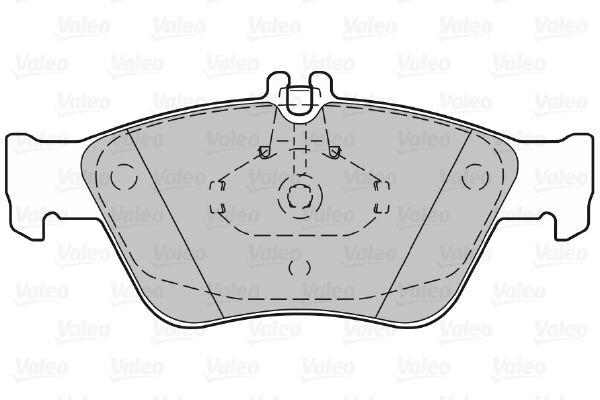 Bremsbelagsatz VALEO 598357 Bewertung