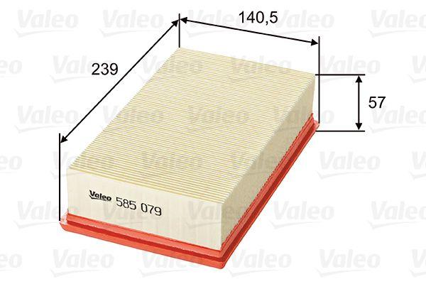 Engine Filter 585079 VALEO 585079 original quality
