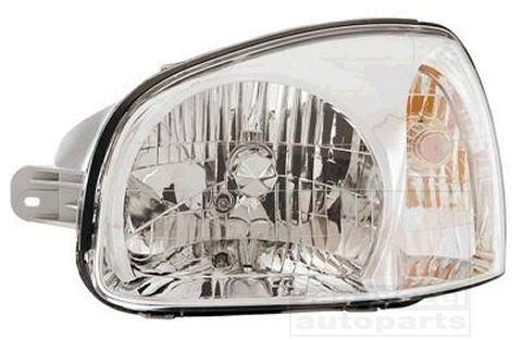 VAN WEZEL  8265961 Headlight for vehicles with headlamp levelling (electric), for right-hand traffic
