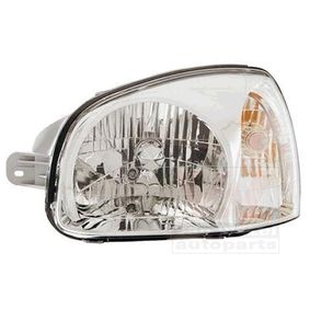 Headlight for vehicles with headlamp levelling (electric), for right-hand traffic with OEM Number 92101-26025