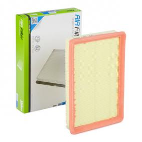 Air Filter Length: 255mm, Width: 174mm, Height: 40mm, Length: 255mm with OEM Number 28113 2D000