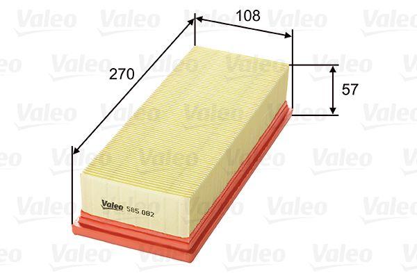 Filtro dell'aria 585082 VALEO 585082 di qualità originale