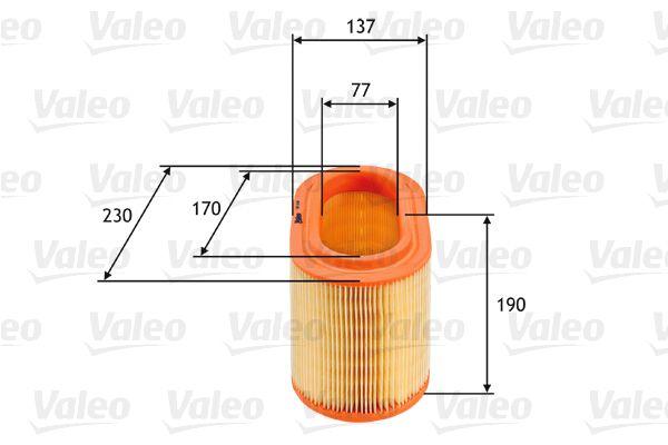 VALEO 585360 Filtro dell/'aria