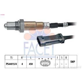 Lambdasonde Kabellänge: 450mm mit OEM-Nummer 1628 SW