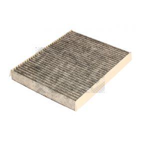 Filter, Innenraumluft Länge: 255mm, Breite: 200mm, Höhe: 30mm mit OEM-Nummer 6447FF