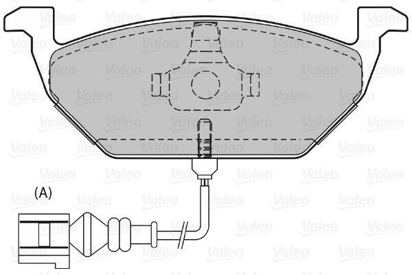 Bremsbelagsatz VALEO 598408 Bewertung