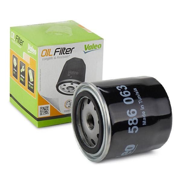 VALEO  586063 Ölfilter Ø: 93mm, Innendurchmesser 2: 72mm, Innendurchmesser 2: 62,2mm, Höhe: 96mm