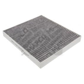 Filter, Innenraumluft Länge: 262,5mm, Breite: 235,5mm, Höhe: 30mm mit OEM-Nummer 180 2422